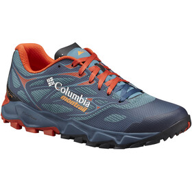 Columbia Trans Alps F.K.T. II Shoes Men Canyon Blue/Orange Blast